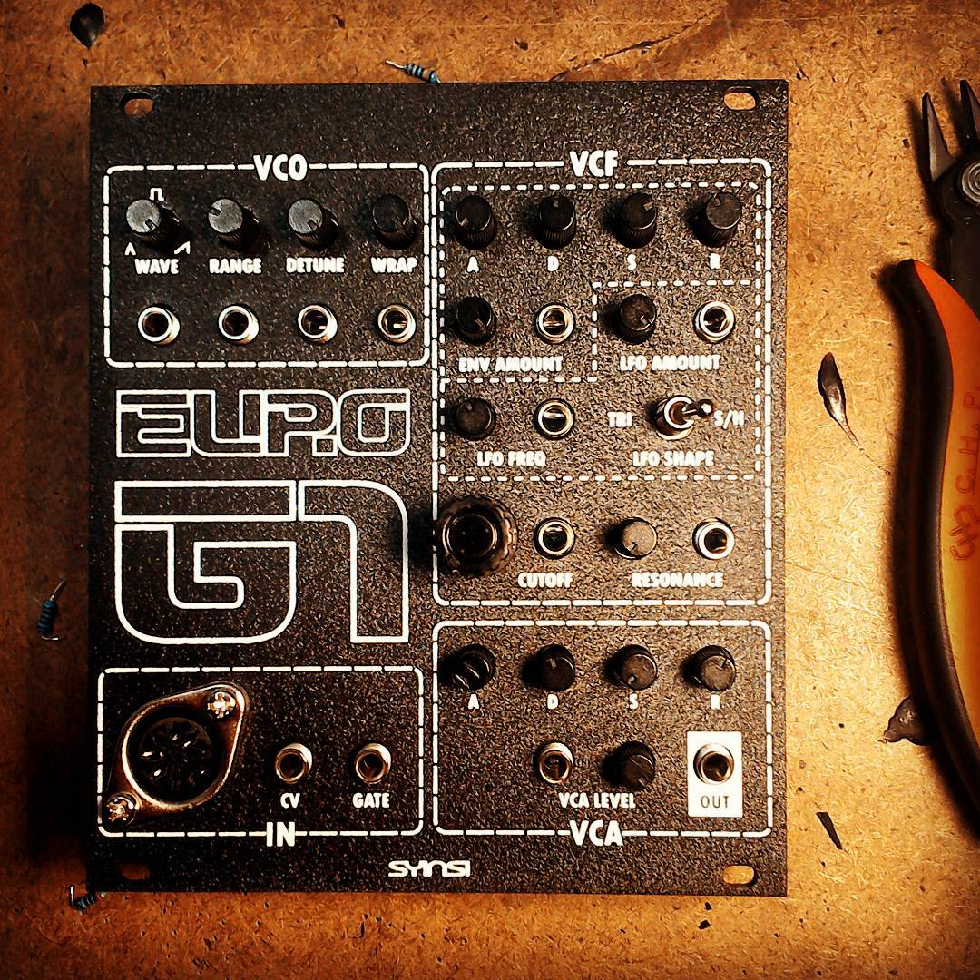 DSP-G1 Eurorack Synthesizer