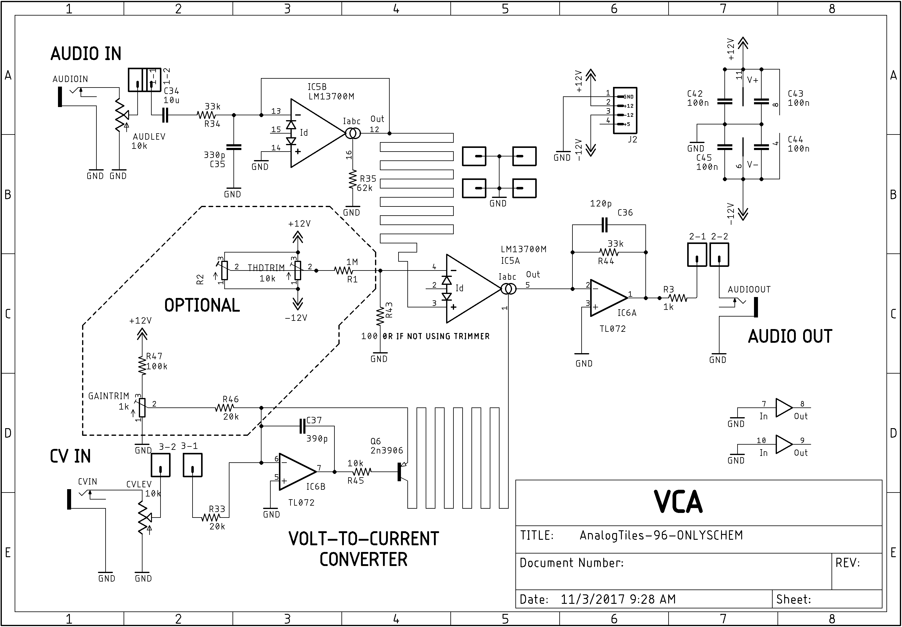 building the new vca tile syinsiPotentiometer 3302w 3 103e Nos Qty Wiring Harness Wiring Diagram #4