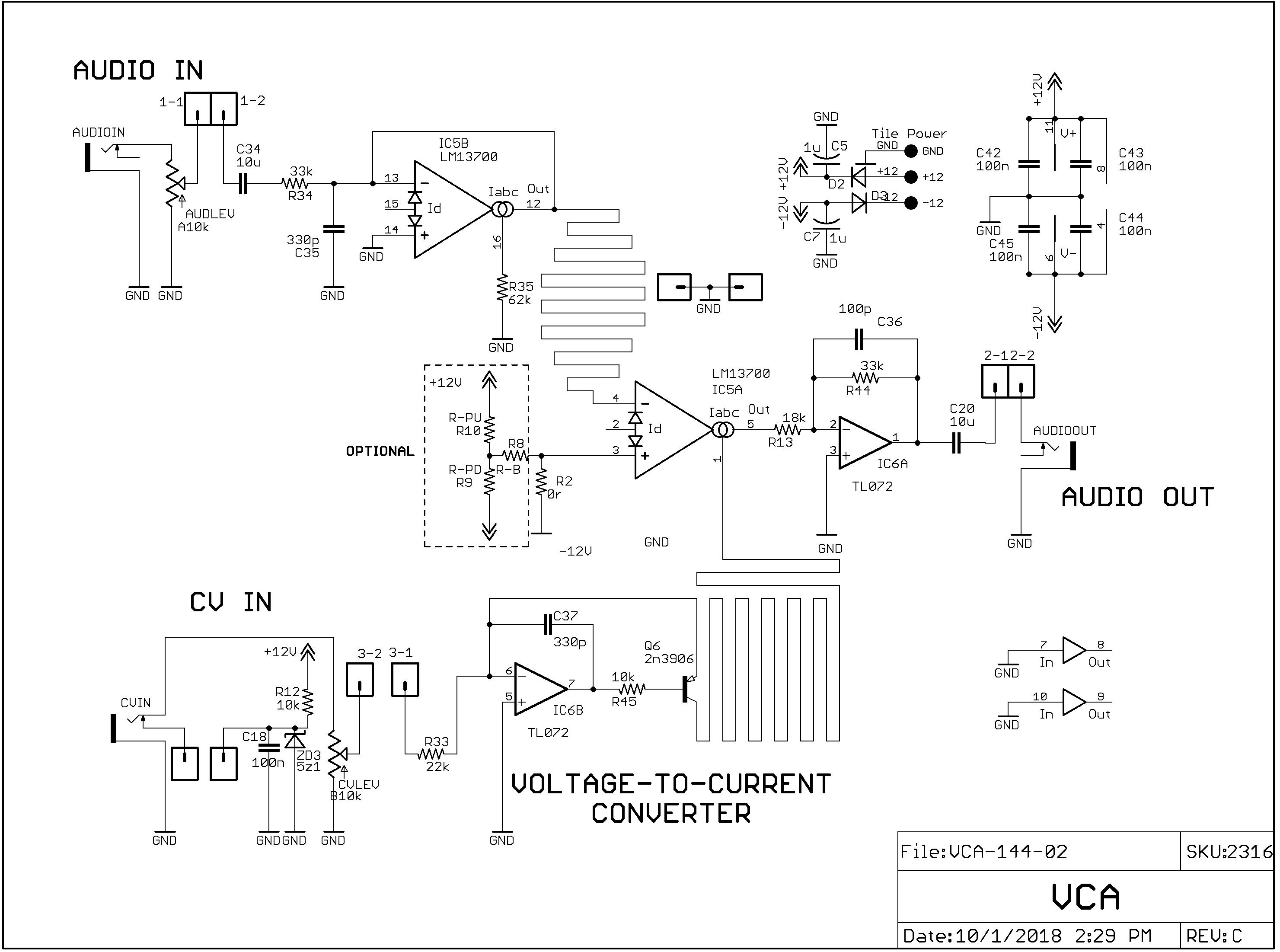 Electromusiccom Wiki Schematics Roland 100 M Signal Gate
